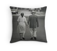 The Autumn years of the Lives Throw Pillow