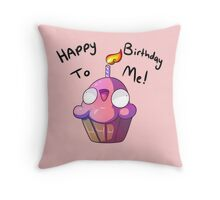 fnaf cupcake Throw Pillow