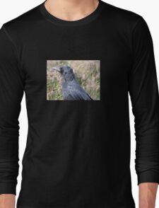 Bore Black Feathers Long Sleeve T-Shirt