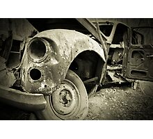 Old Spooky Car  Photographic Print