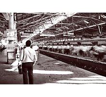 Bombay Train Photographic Print