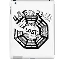 Lost Dharma Numbers iPad Case/Skin