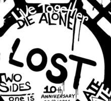 Lost Dharma Numbers Sticker