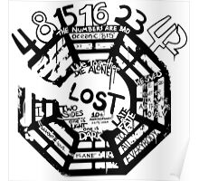 Lost Dharma Numbers Poster