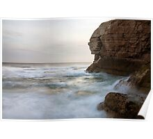 Sphynx at Thornwick Bay Poster