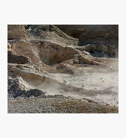 boiling mud Photographic Print