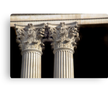 Corinthian Columns. Canvas Print