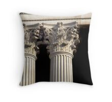 Corinthian Columns. Throw Pillow
