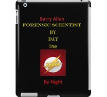 Barry Allen by Day, Flash By Night iPad Case/Skin