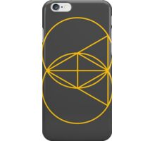 Glitch Mob - Invert Gold iPhone Case/Skin