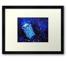 Time Traveller Framed Print