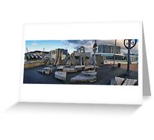 City to Sea Bridge Greeting Card