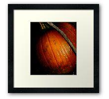 """""""Pumpkin Patch"""" Framed Print"""