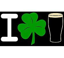 I Rock Guinness - dark Photographic Print