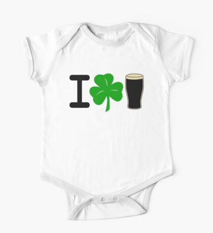 I Rock Guinness - light One Piece - Short Sleeve