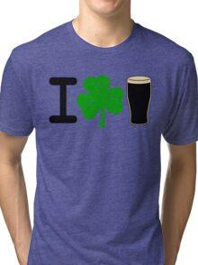 I Rock Guinness - light Tri-blend T-Shirt