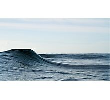 sea slopes Photographic Print