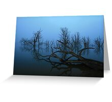 Lake Eucumbene Greeting Card
