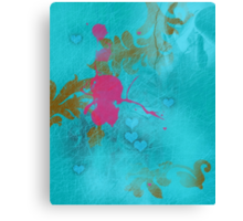 Pink elf in love Canvas Print