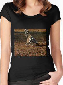 Flight of the Lemur Women's Fitted Scoop T-Shirt