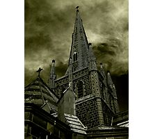 St Mary of the Angels - Standing Against Satan #2 Photographic Print