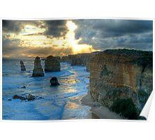 12 Apostles Sunset Poster