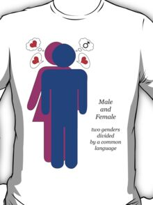 male + female T-Shirt