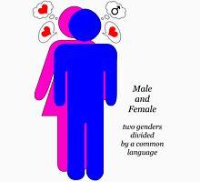 male + female Unisex T-Shirt