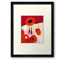 Does it hurt you? Framed Print