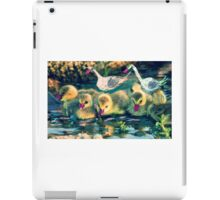 Parents close by as chick explore iPad Case/Skin