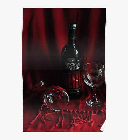 Once upon a Wine Poster