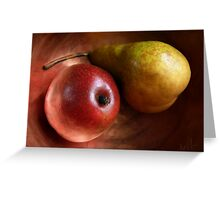 Pears Again Greeting Card