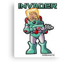 Invader Canvas Print