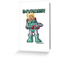 Invader Greeting Card