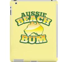Aussie Beach Bum cute Australian design with map of Australia iPad Case/Skin