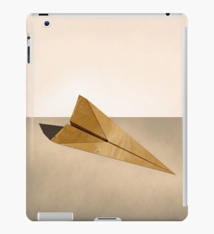 Paper Airplanes of Wood 15 iPad Case/Skin
