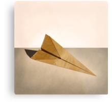 Paper Airplanes of Wood 15 Metal Print