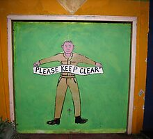 Please Keep Clear by outsider