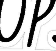 OOPS!  Sticker