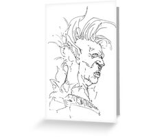Orc Greeting Card