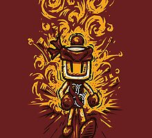 Never look back Bomberman ! by Maclogan