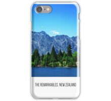 The Remarkables, New Zealand iPhone Case/Skin