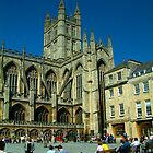 Bath Abbey by newbeltane