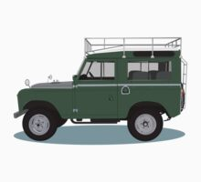 1963 Series 2a Landrover by Jamie Gothard