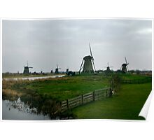 Kinderdijk - The Netherlands Poster