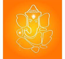 God Ganesha Photographic Print