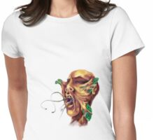 Butterfly Attack Womens Fitted T-Shirt