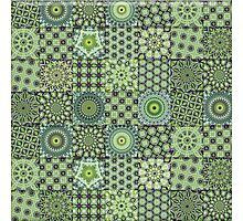 Green Valley Quilt Photographic Print