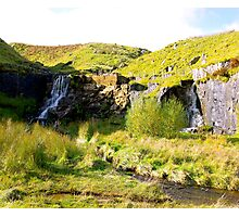 Twin Falls Photographic Print