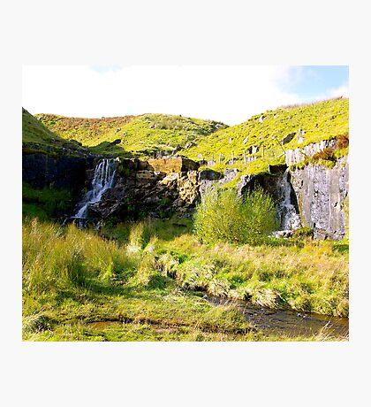 Twin Falls Photographic Print